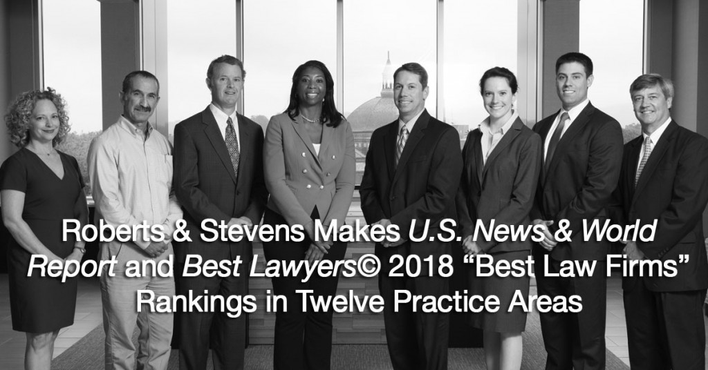 Roberts & Stevens Makes U S  News & World Report and Best Lawyers