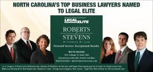 Roberts & Stevens Legal Elite 2016