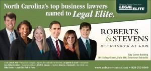 Roberts & Stevens Legal Elite 2017