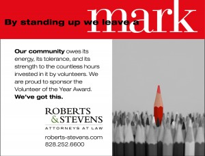 Roberts & Stevens_Chamber Vol of Year Ad_web